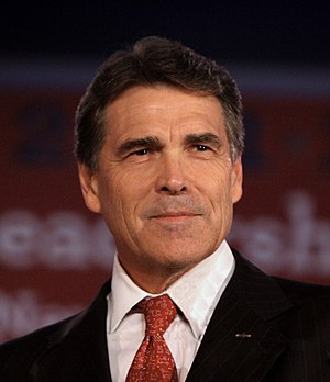 Republican Gov. Rick Perry of Texas