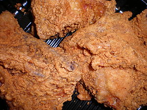 Fried chicken from Safeway