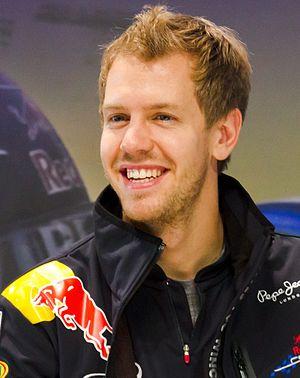Sebastian Vettel (Red Bull) at Nissan Global H...