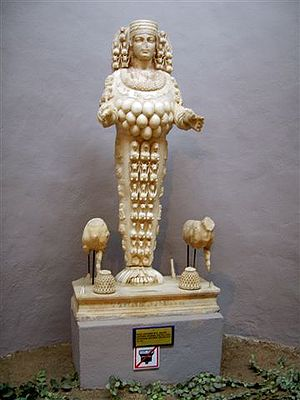 The Artemis of Ephesus, 1st century AD (Ephesu...