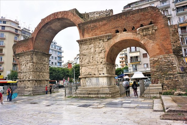Triumphal Arch of Galerius - Thessaloniki, Greece