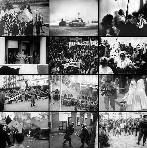 Algerian war collage wikipedia
