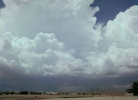 English: az monsoon clouds
