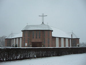 Church of Jesus Christ the King in Boleslawiec...