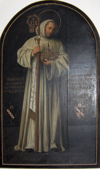 Bernard of Clairvaux, as shown in the church o...