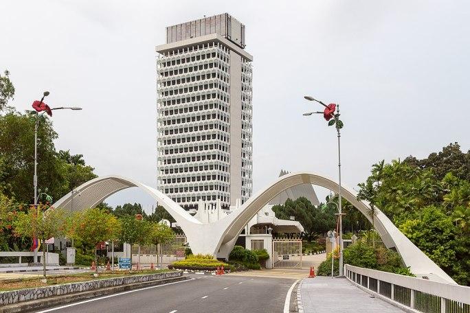 Kuala Lumpur Malaysia Bangunan Parlimen Malaysia-02