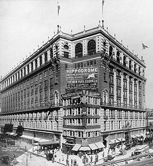 Macy's Bldg. & Herald Square, New York City, 1907.