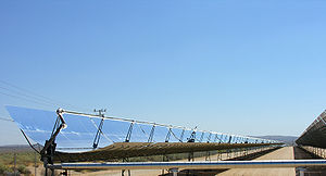 Parabolic trough solar thermal electric power ...