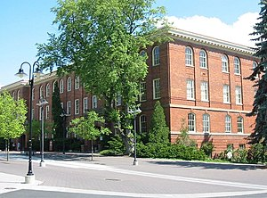 WSU college hall