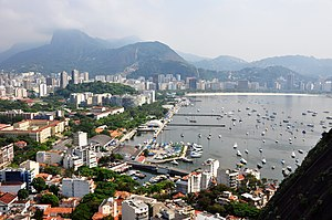 English: Rio de Janeiro Botafogo Flamengo Braz...