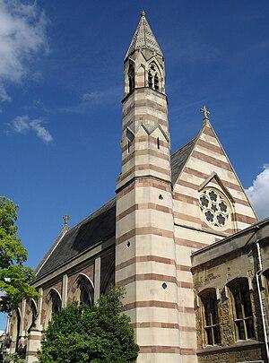 Alfred Waterhouse's chapel at Balliol College,...