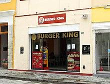 A Burger King in Oaxaca, Mexico