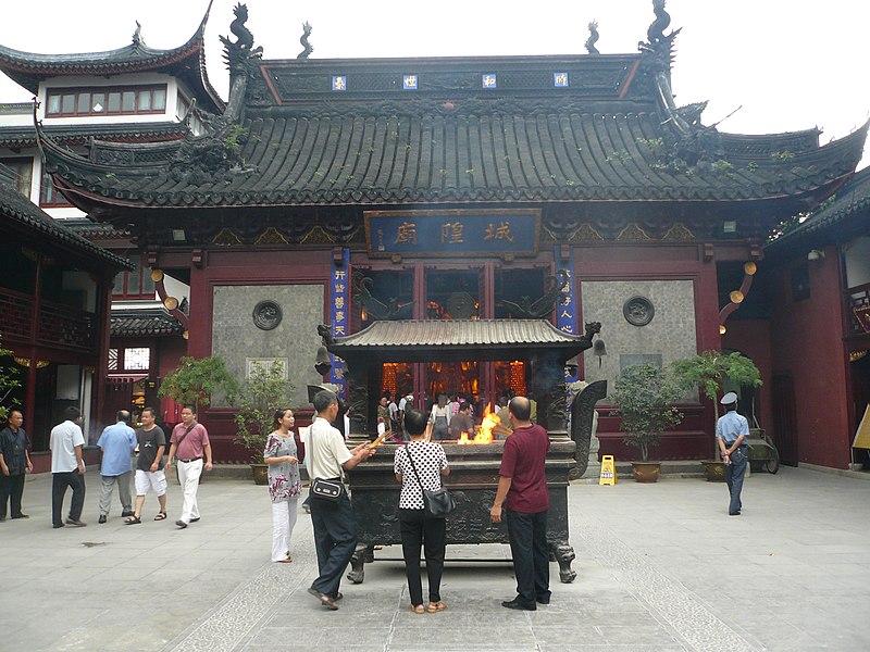 Kelenteng Dewa Kota/Chenghuang Miao di Shanghai