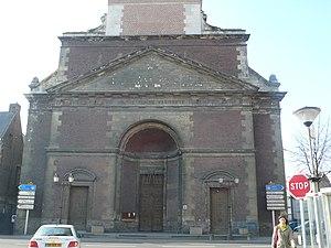 Français : Eglise de Marchiennes (59), avec la...