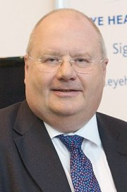 Eric Pickles, British politician and Chairman ...