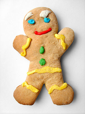 "A cookie similar to ""Gingerbread Man""..."
