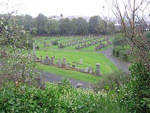 Rain at Glasgow Necropolis