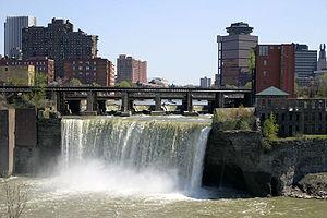 English: High Falls Rochester NY
