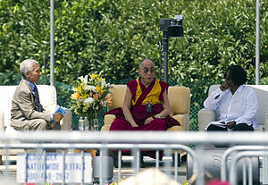 His Holiness the Dalai Lama of Tibet Answering...
