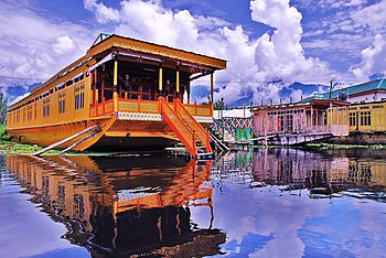 Houseboats are floating luxury hotels predomin...