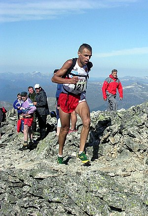 The Norwegian mountain runner and orienteer Jo...