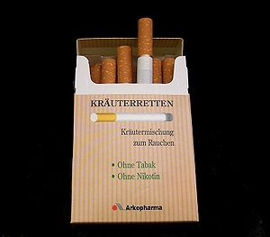 Expensive cigarette surrogate used to give up ...