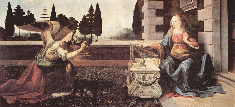 「受胎告知 絵画」の画像検索結果
