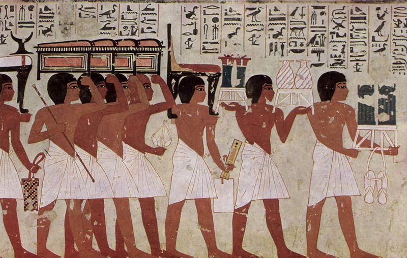 File:Maler der Grabkammer des Ramose 002.jpg