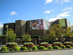 English: National Arts Centre from Elgin Stree...