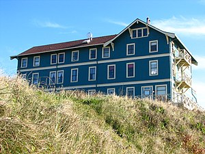English: The historic New Cliff House (built 1...