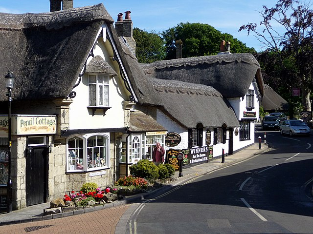 File Pencil Cottage And The Old Thatch Tea Room Shanklin