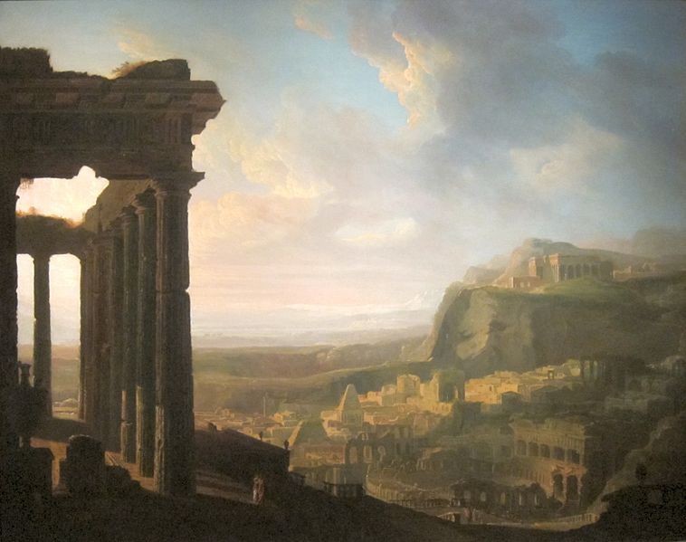 File:Ruins of an Ancient City by John Martin, 1810s.JPG