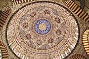 Interior salah satu Mesjid di Edirne