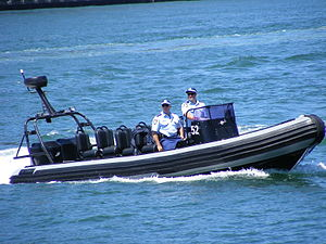English: Water police in Sydney