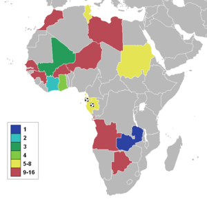 African Teams Qualified For World Cup