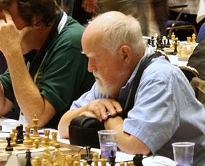 Chess master Bill Hook, British Virgin Islands...