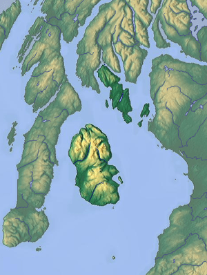 Map of Buteshire