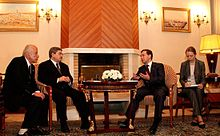 Ahmed Ouyahia and Russian President Dmitry Medvedev