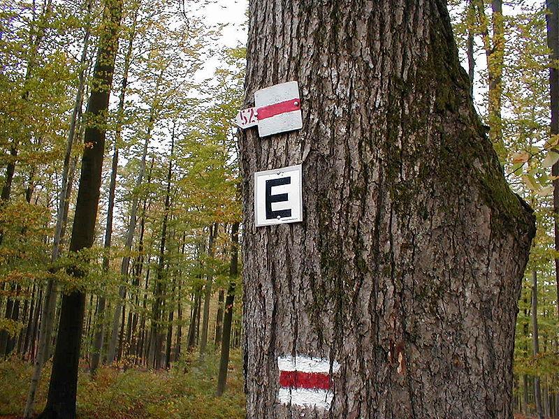Eselsweg-Wanderzeichen