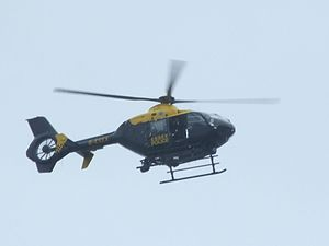 Essex police helicopter