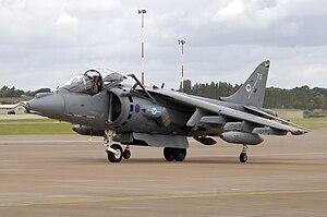British Aerospace Harrier II at RIAT 2008