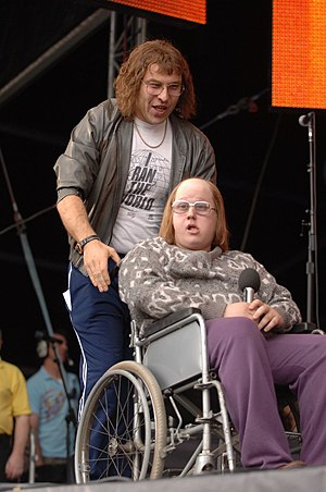 Little Britain comedians David Walliams and Ma...