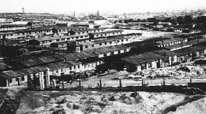 The concentration camp in Plaszow near Krakow,...