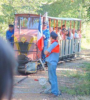 Français : Petit train de l'Yonne (Massangis)