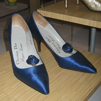 Shoes by Roger Vivier for Christian Dior
