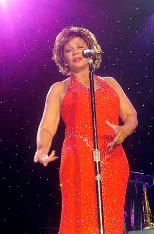 Shirley Bassey at Wembley Arena, 2006