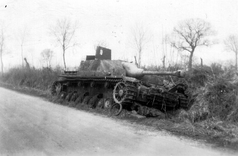 File:StuG IV Wreck Normandy.jpg