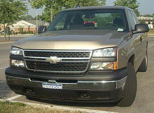 2006 Chevrolet Silverado photographed in Lexin...