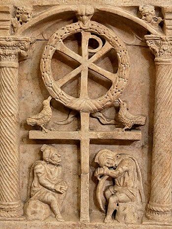 Anastasis, symbolic representation of the resu...