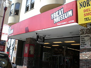 The Beat Museum on Broadway Street in San Fran...